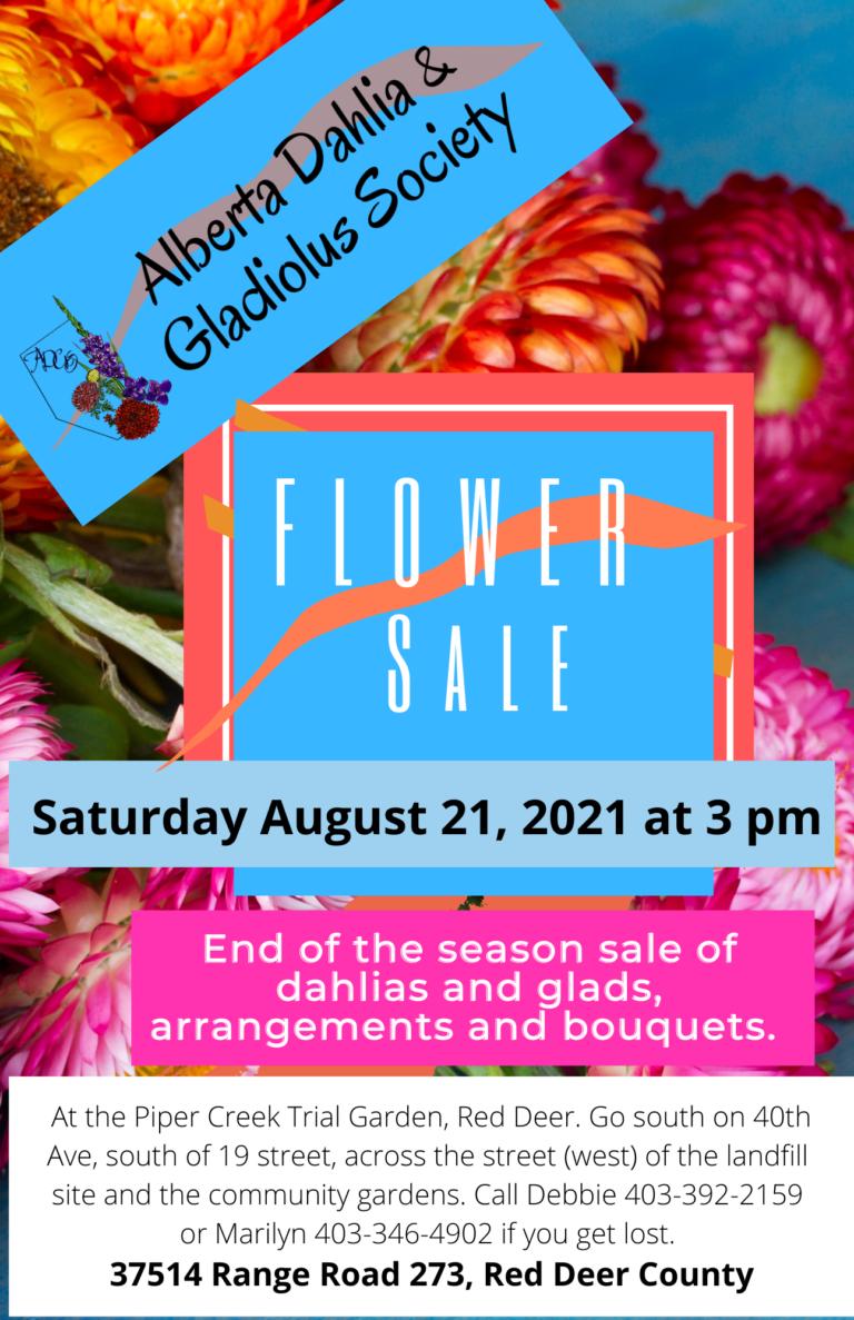 Flower Sale 2021