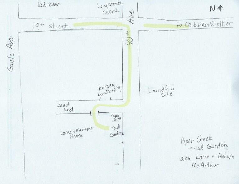 Map to McArthurs